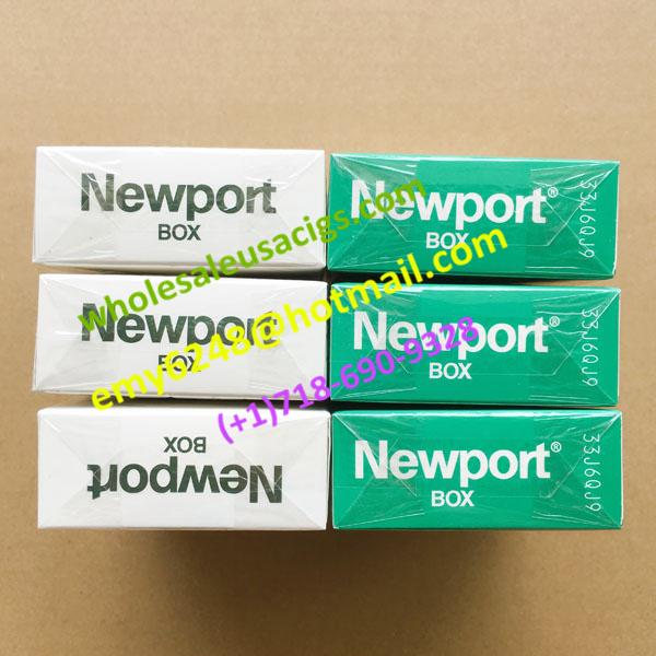 New Batch 3 Cartons Of Newport Shot Menthol Cigarettes With Free Stamps